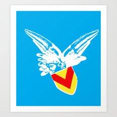 Zooport Cherub Art Print