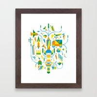 Shape-A-Licious Framed Art Print