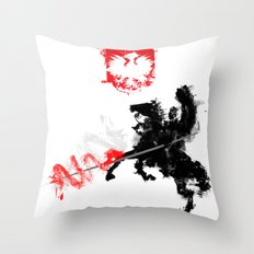 Polish Hussar Throw Pillow