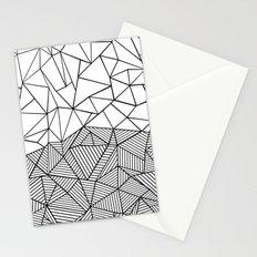 Ab Half n Half Stationery Cards