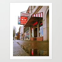 Art Print featuring No MSG by Vorona Photography