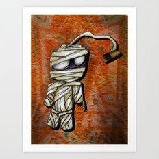 Bobby Mummy Art Print