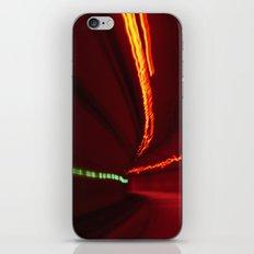Traffic at warp speed IV iPhone & iPod Skin