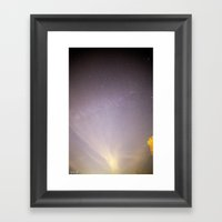 Reaching II Framed Art Print