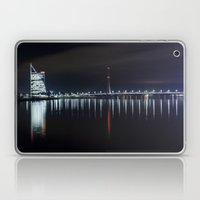Bridge at evening Laptop & iPad Skin