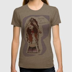 tattoos of memories Womens Fitted Tee Tri-Coffee SMALL