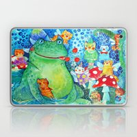 The meal of the Toad Laptop & iPad Skin