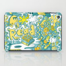 READ BOOKS LITTLE MONSTERS iPad Case
