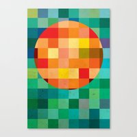 Color Player Canvas Print