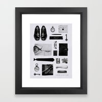 Traveler Framed Art Print