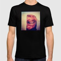 SHINING 4 Mens Fitted Tee Black SMALL