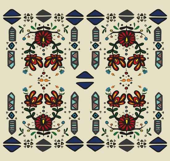 Tribal 2 Art Print