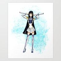 Satsuki KLK Art Print