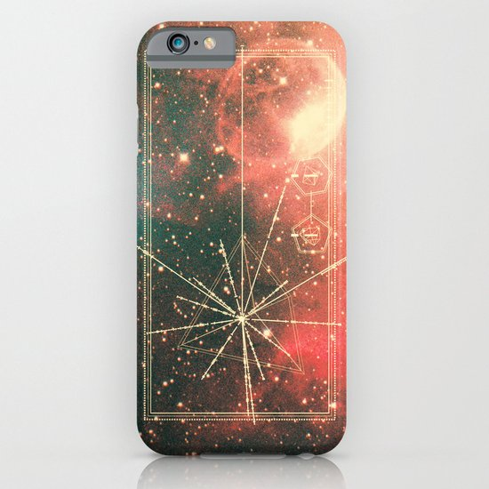 Pulsar Map iPhone & iPod Case