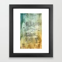 Tremolo patent Framed Art Print
