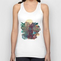 Panther Square Unisex Tank Top