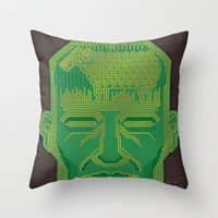 Android Dreams Throw Pillow