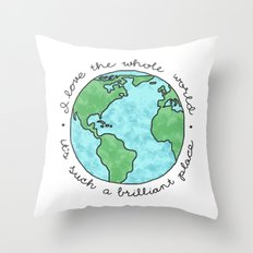 Boom De Yada Throw Pillow