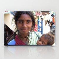 Indian Poor Woman iPad Case