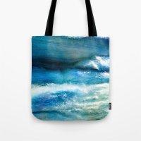 Waves Of Wool Tote Bag