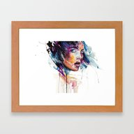 Sheets Of Colored Glass Framed Art Print