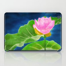 Pink Lotus Beauty iPad Case