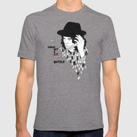 Jack White Cuts Like A B… Mens Fitted Tee Tri-Grey SMALL