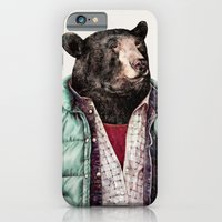 iPhone & iPod Case featuring Black bear by Animal Crew