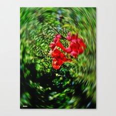 Blur Flower Canvas Print