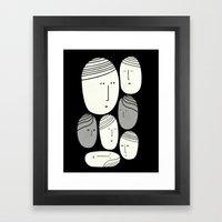 FACCE Framed Art Print