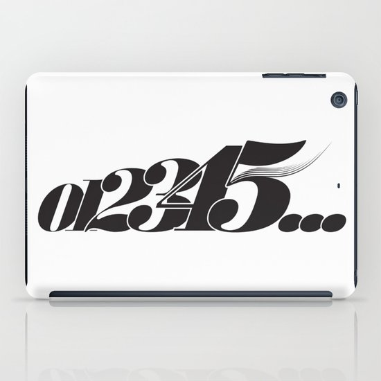 Numbers iPad Case