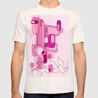 In The Pink Mens Fitted Tee Natural SMALL