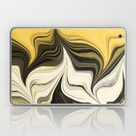 Side By Side Abstract Go… Laptop & iPad Skin