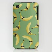 iPhone 3Gs & iPhone 3G Cases featuring Mister Banano by SandraSuarez