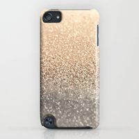 iPod Touch Cases featuring  GOLD by Monika Strigel