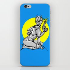 Robot Pinup iPhone & iPod Skin