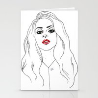 Club Queen Stationery Cards