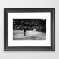 Skater Series #1 Framed Art Print