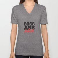 Boss Ass Bitch Unisex V-Neck