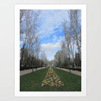 Springtime In Spain Art Print