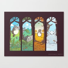 Spirit Of The Seasons Canvas Print