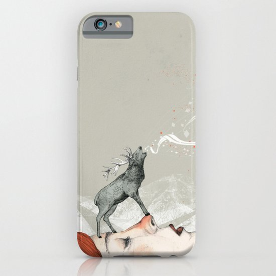Deer Lady! iPhone & iPod Case