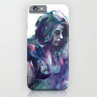 iPhone & iPod Case featuring Melancholy mood portrait by ChiLi_biRó