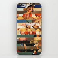 Glitch Pin-Up Redux: Oli… iPhone & iPod Skin