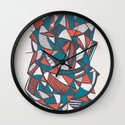 Paths of Confusion Wall Clock