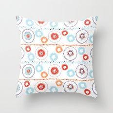 Kaleidoscope Stripes Throw Pillow