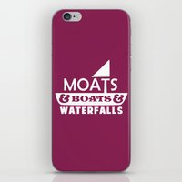Moats And Boats And Wate… iPhone & iPod Skin