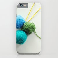 Knitting in threes iPhone 6 Slim Case