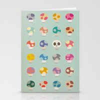 How to Tell Poison Mushrooms Stationery Cards
