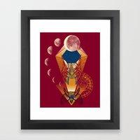 Children of the moon Framed Art Print